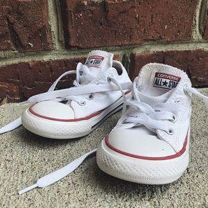 Toddler White Converse
